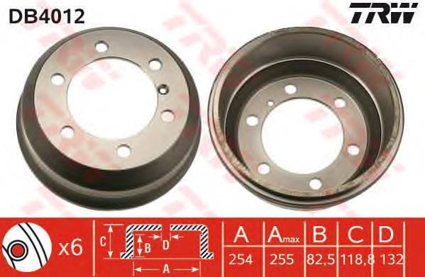 Задний барабан Даф 400 - Покупка запчастей и сравнение цен на Avto.pro
