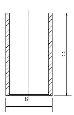 гильза поршневая  SU351313