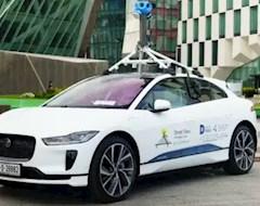 Google продемонстрировал инновационный электромобиль для определения качества воздуха