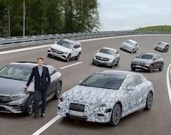 Mercedes готов к полному переходу на электроэнергию