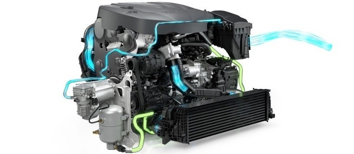 Турбированный двигатель Volvo без турболага