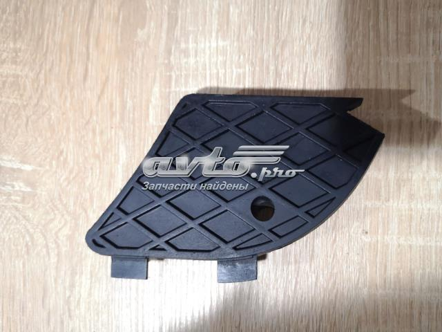 Заглушка (решетка) противотуманных фар бампера переднего левая (в отличном состоянии)