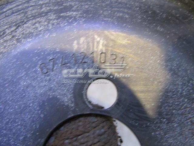 Шкив насоса гидроусилителя на vw transporter t4 1996-2003