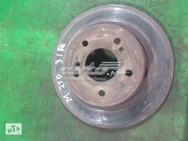 Гальмівний диск задній mercedes w210 mercedes w124 універсал