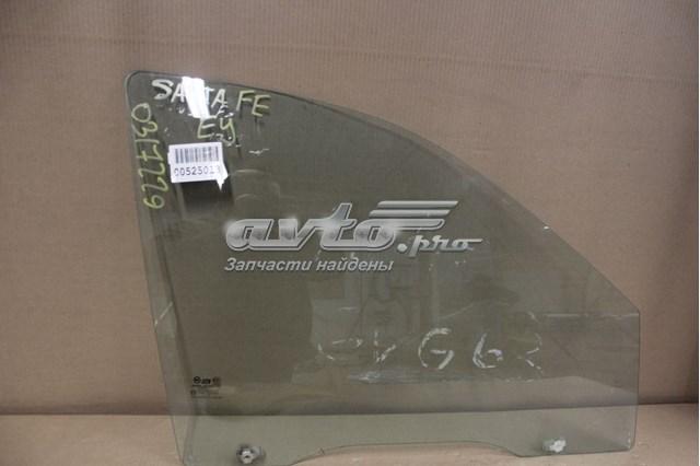 Стекло двери передней правой для hyundai santa fe sm (2000-2012)