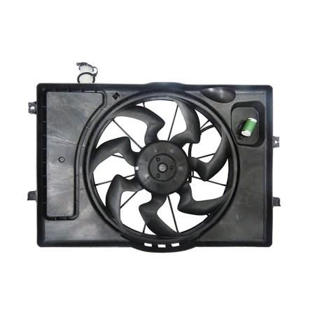 [mobis] вентилятор радиатора в сборе elantra  16~ с бачком