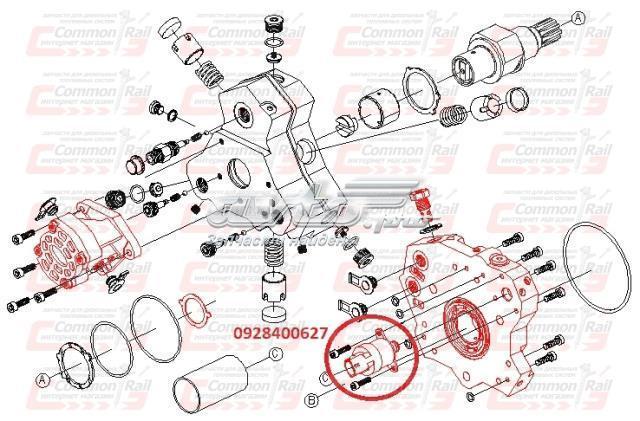 Дозировочный блок (клапан тнвд) man (tga, tgs)