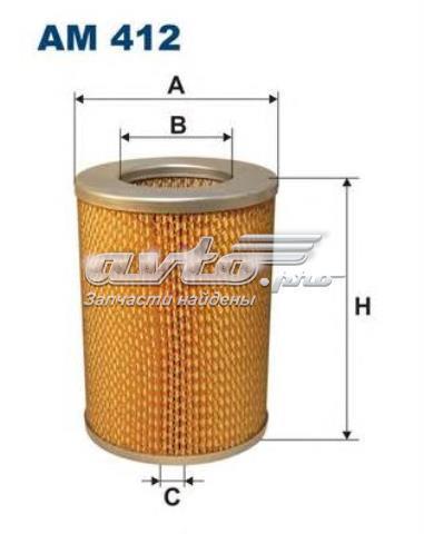 Фильтр воздушный union a-208 (am412)