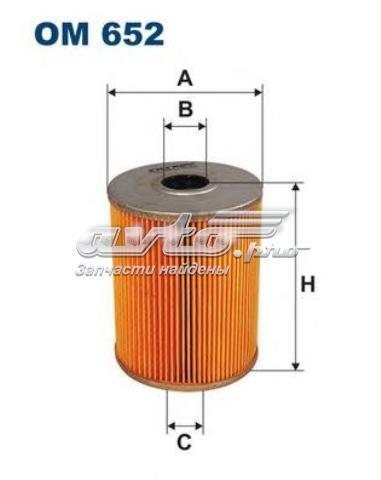 Фильтр масляный fiaam fa5397 (filtron om652)