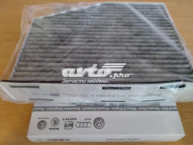 Original, угольный, кросс-номер 1k1819653b фильтр в карт.упаковке, а не в просто полиэтилене