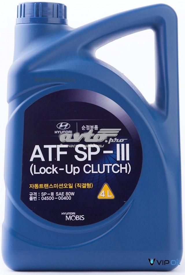 """Масло трансмиссионное полусинтетическое hyundai/kia """"atf sp-iii"""", 4л"""