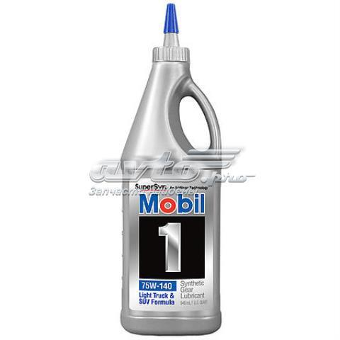 Масло в мост mobil 1 syntetic gear lube ls 75w140 1кварта (946мл), шт