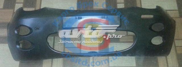 Бампер передний s11 №1 chery qq (решётка - овал) лицензия