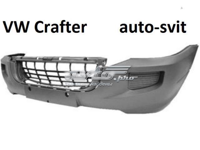 Бампер передний vw crafter
