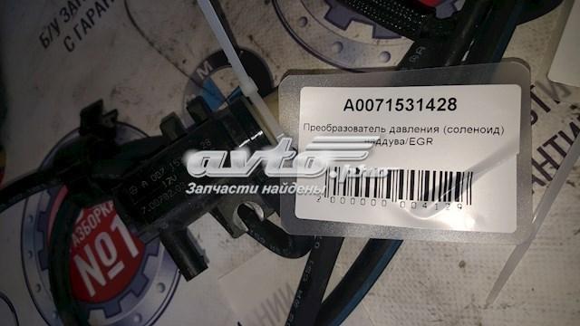 Преобразователь давления (соленоид) наддува/egr