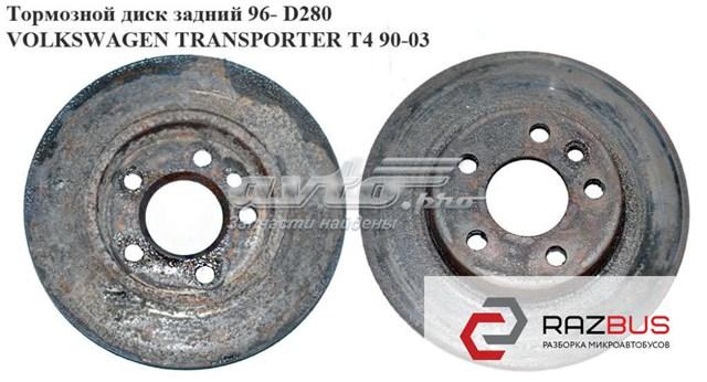 тормозные задние диски на транспортер т4