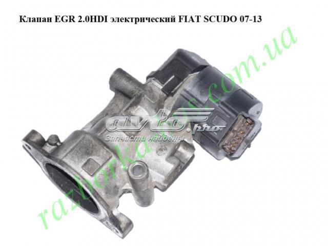 Клапан еgr 2.0hdi электрический fiat scudo 07-13