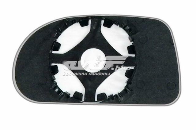 Зеркальный элемент для автомобилей fiat bravo с 1995 по 2001 год выпуска для правой стороны с антибликовым сферическим стеклом нейтрального тона без обогрева