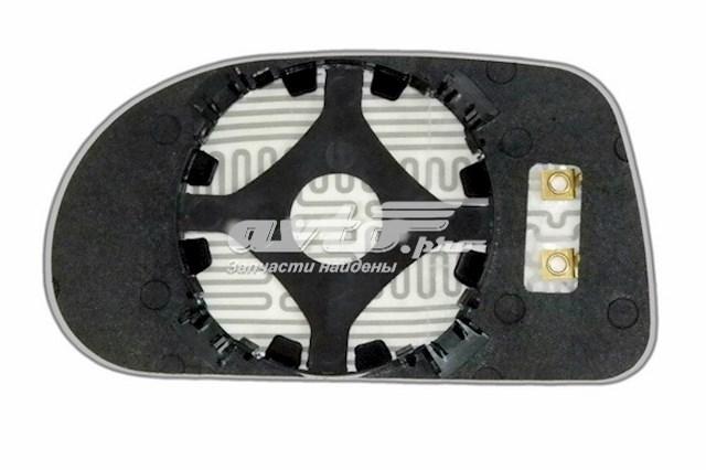 Зеркальный элемент для автомобилей fiat bravo с 1995 по 2001 год выпуска для правой стороны с антибликовым сферическим стеклом нейтрального тона и системой обогрева
