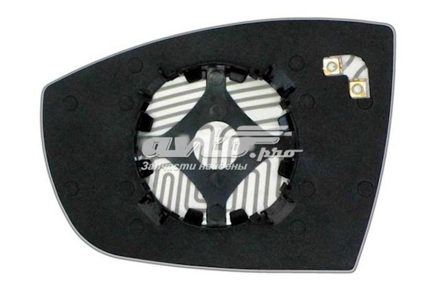 Зеркальный элемент для автомобилей ford escape iii с 2012 года выпуска по настоящее время для правой стороны с антибликовым асферическим стеклом нейтрального тона и системой обогрева