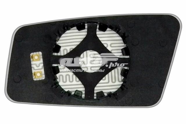 Зеркальный элемент для автомобилей audi 100 (44) с 1982 по 1990 год выпуска для правой стороны с антибликовым сферическим стеклом нейтрального тона и системой обогрева