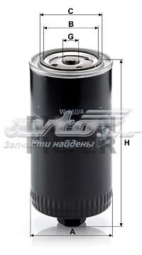 Фильтр маслянный, vw lt, 2.4 d/td - t-4, 2.4 d - 2.5 tdi
