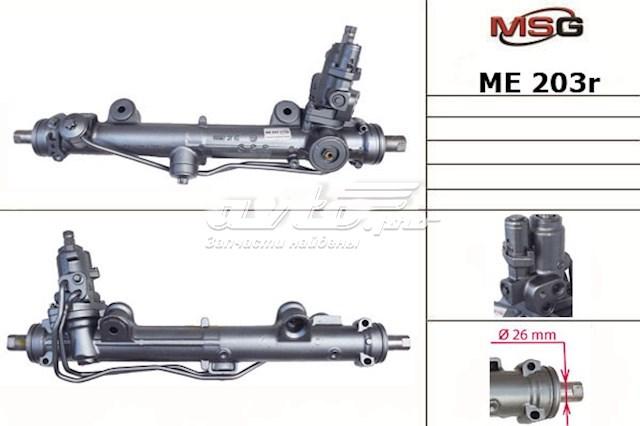 Рулевая рейка с гур восстановленная mercedes c w 203 00-07 serv