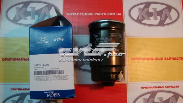 Фильтр топливный, hyundai tucson, 319222e900