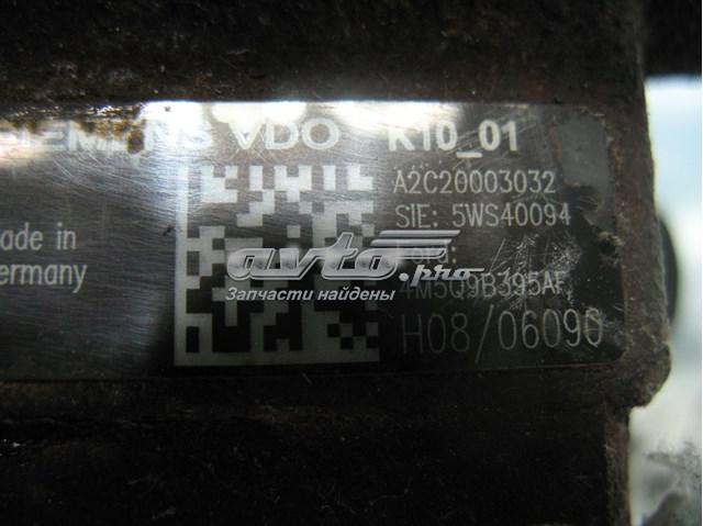 Топливный насос высокого давления на ford focus ii 1.8tdci. каталожный номер - 4m5q9b395af. состояние рабочее  поврежден корпус фишки тнвд. цена за тнвд  что на фото.