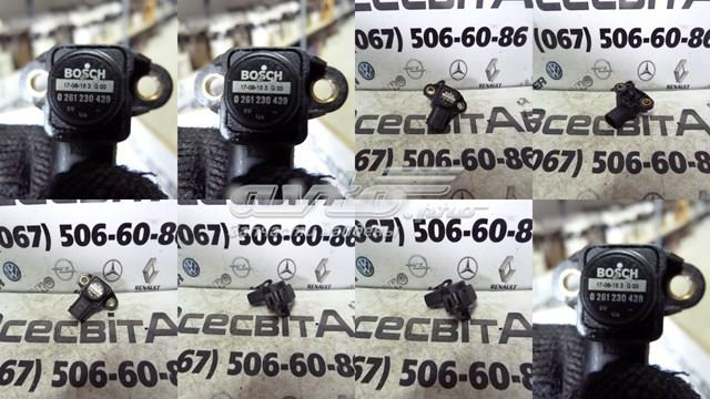 Датчик давления наддува на впускном коллекторе bosch om 646 - 651 mercedes sprinter  vito w639 0261230439(106)