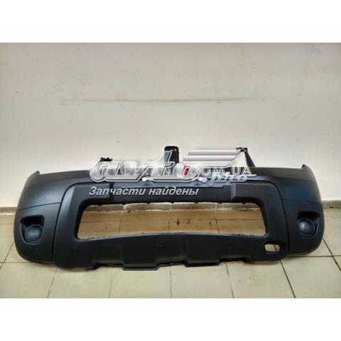 Бампер передний duster (2010-2017)