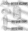 Hyd-002 отбойник амортизатора!/ hyundai lantra 96-00, kia cerato 04