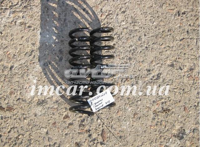 Задняя пружина a2103243204,1зел/1жёл,w210, прод  только 2 шт.