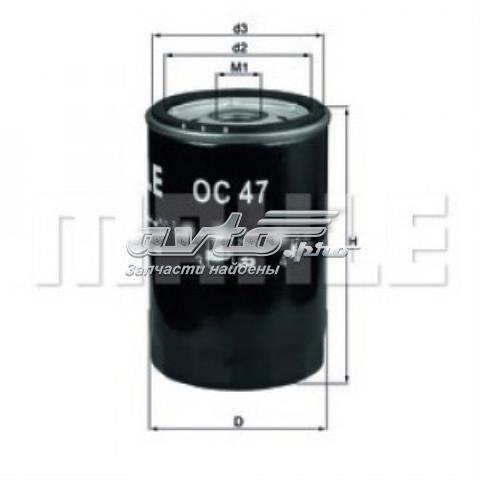 Фільтр масляний vw caddy ii 1.6 (без упаковки)