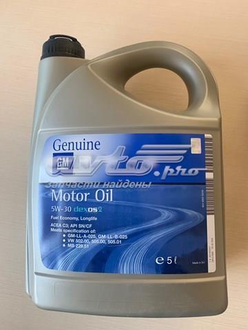 Масло моторное gm dexos 2 longlife 5w-30