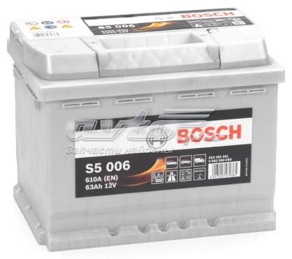 Акб s5 63ah 610a 242x175x190 (+-) (батарея аккумуляторная 63а/ч 610а 12в прямая поляр. стандартные клеммы)