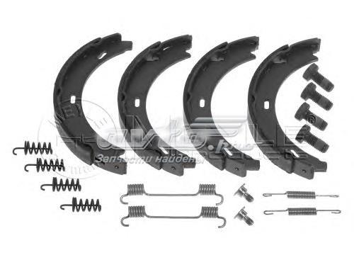 Колодки руч.торм.mercedes w124,129,201,202,210 (164x20) (тормозные колодки)