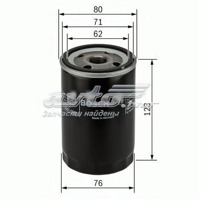 Фильтр масляный audi 80/100/a4/a6/vw g3/passat 1.6-4.2