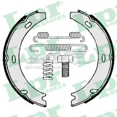 Комплект тормозных колодок 04729 (комплект тормозных колодок, стояночная тормозная система)