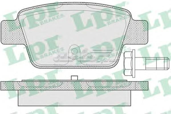Комплект тормозных колодок 05p780 (комплект тормозных колодок, дисковый тормоз)