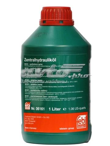 F_жидкость гидравлическая! 1л зеленая синт. (масло гур , 1л)
