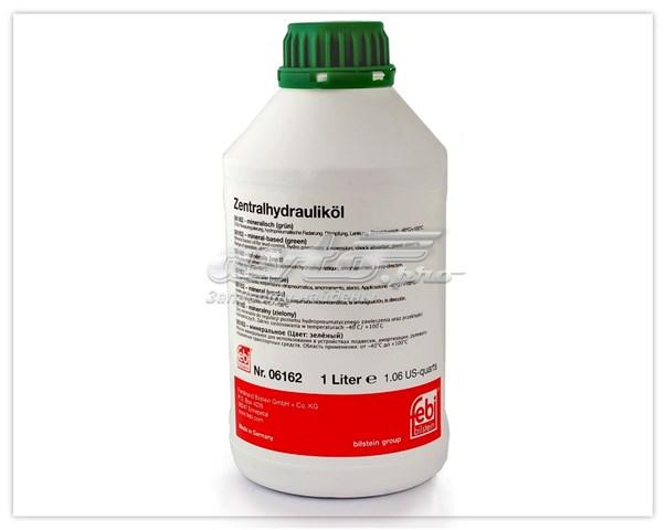 Жидкость для гидроусилителя febi 1л. зеленая минерал. (масло гур , 1л)