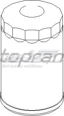 Фильтр масляный audi/volkswagen (фильтр масляный / audi,seat,vw 1.9/2.5 tdi 93~)