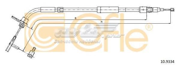 Трос стояночного тормоза прав задн mb a-klasse all 05 (трос стояночного тормоза прав задн mb a-klasse all 05-)