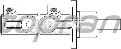 Цилиндр тормозной главный audi/volkswagen (цилиндр тормозной главный / ford galaxy,seat alhambra,vw sharan 95~ (c abs))