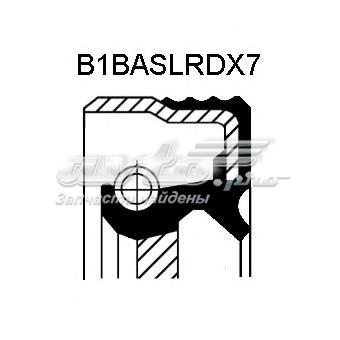 Сальник акпп aкпп - 52x68x8 fpm b1bavislrdx7 bmw e46/e39 2.0i - 2.5i m52/m54 98> (сальник кпп  mb  52x68x8)