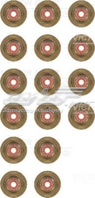 Колпачки маслосъемные комплект 16шт citroen c5/xantia 1.8/2.0 95> 6x10/26,5x17,1 (16) (комплект прокладок, стержень клапана)