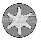 Комплект болтов гбц opel ascona, kadett 1.6d, astra, vectra 1.7d 88 (комплект болтов головки цилидра)