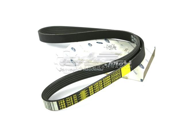 Приводной ремень belt 1563258 (ремень приводной генератора 2.5l duratec vct turbo 20v)
