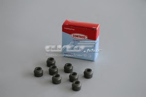 Колпачки маслосъемные citroen xsara/xantia/c5 2.0 hdi 98> 5x8.5x9.5 (8) (комплект прокладок, стержень клапана)